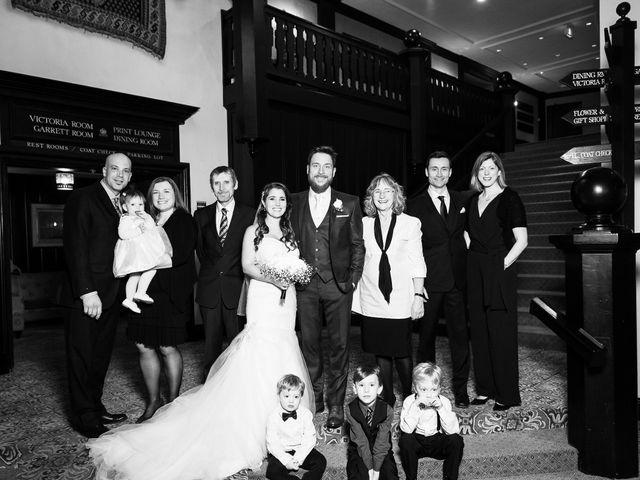 Ehrin and Kellie's wedding in Toronto, Ontario 61