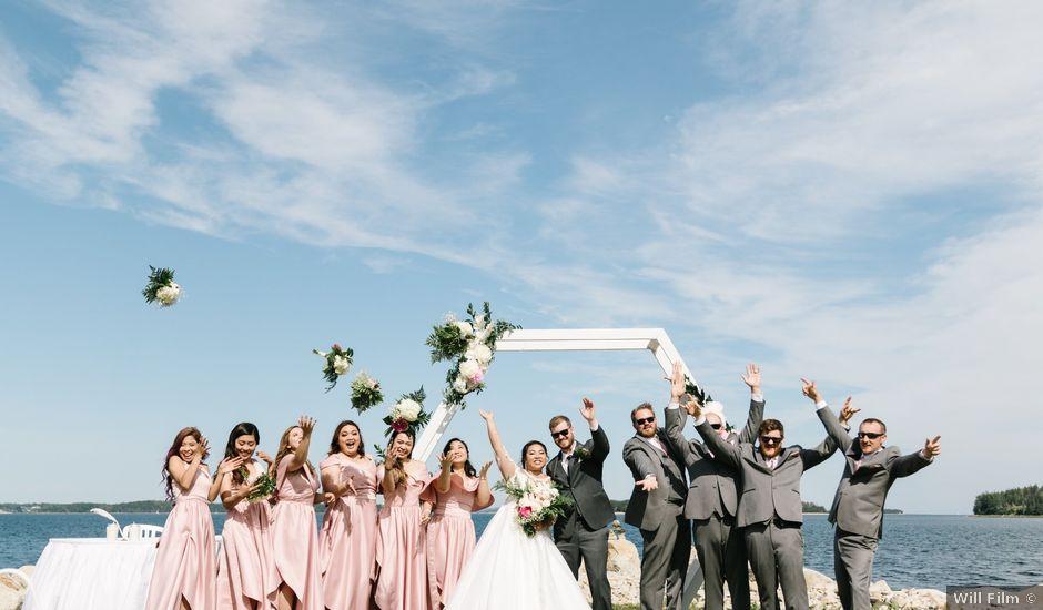 Steven and Lyana's wedding in Western Shore, Nova Scotia