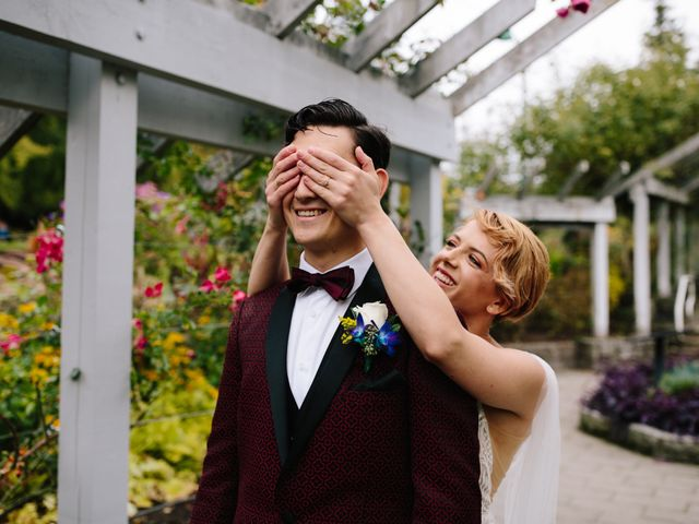 Carlen and Caitlin's wedding in Vancouver, British Columbia 3