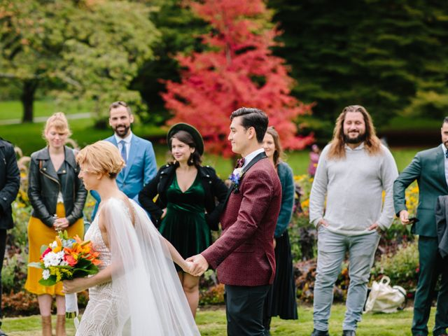 Carlen and Caitlin's wedding in Vancouver, British Columbia 5