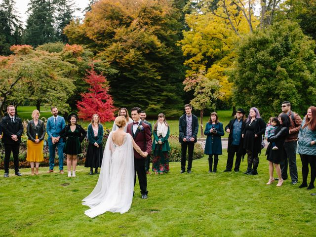 Carlen and Caitlin's wedding in Vancouver, British Columbia 8