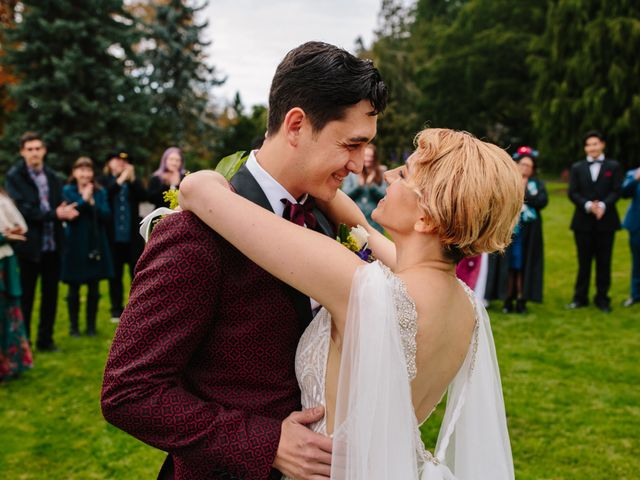 Carlen and Caitlin's wedding in Vancouver, British Columbia 13