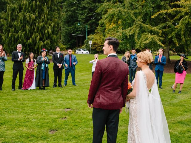 Carlen and Caitlin's wedding in Vancouver, British Columbia 14