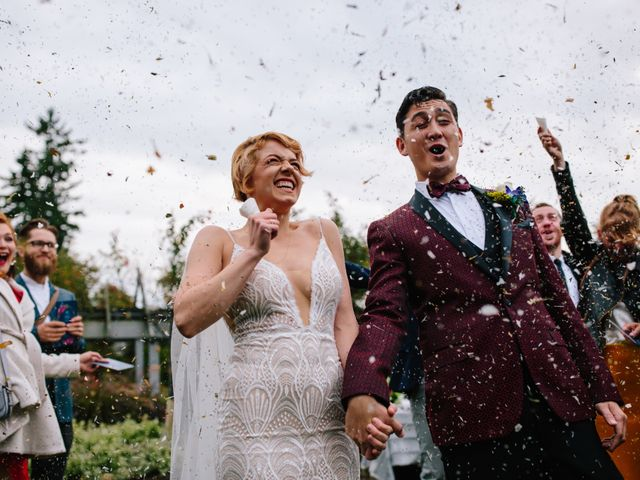 Carlen and Caitlin's wedding in Vancouver, British Columbia 2