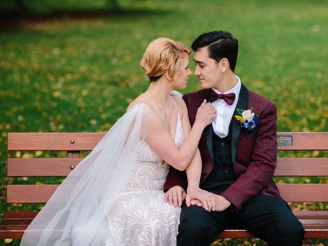 Carlen and Caitlin's wedding in Vancouver, British Columbia 17