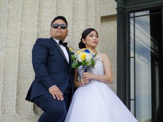 The wedding of Marie and Armel
