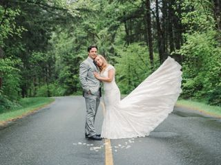 The wedding of Kristina and Justin