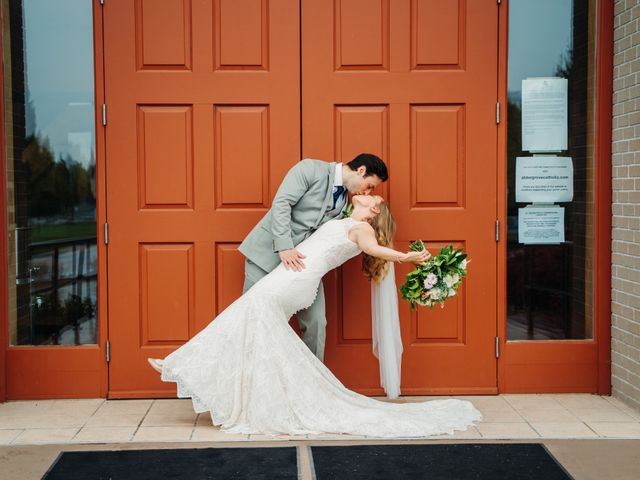 Justin and Kristina's wedding in Aldergrove, British Columbia 2