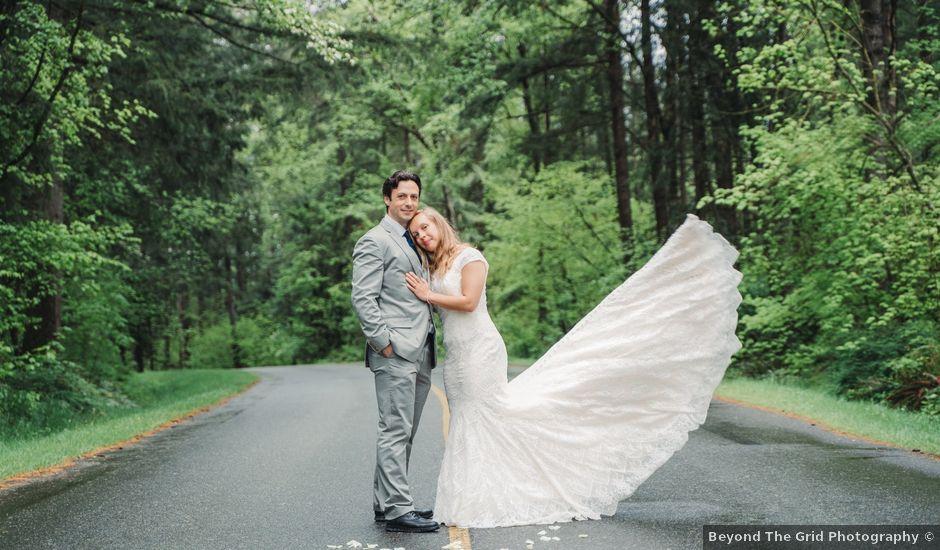 Justin and Kristina's wedding in Aldergrove, British Columbia