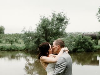 The wedding of Kristen and Lucas