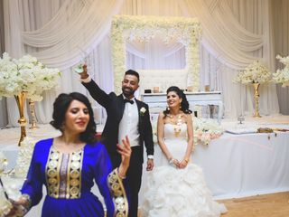 The wedding of Yalda and Maseeh 1