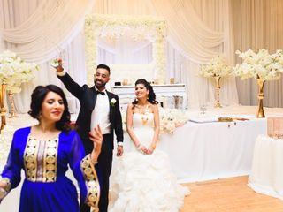 The wedding of Yalda and Maseeh 2
