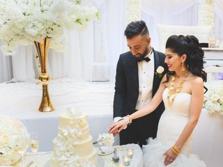 The wedding of Yalda and Maseeh 3