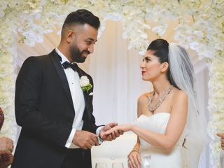 The wedding of Yalda and Maseeh