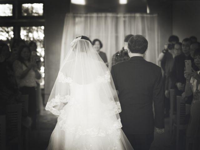 Garvin and Cathy's wedding in Burnaby, British Columbia 6