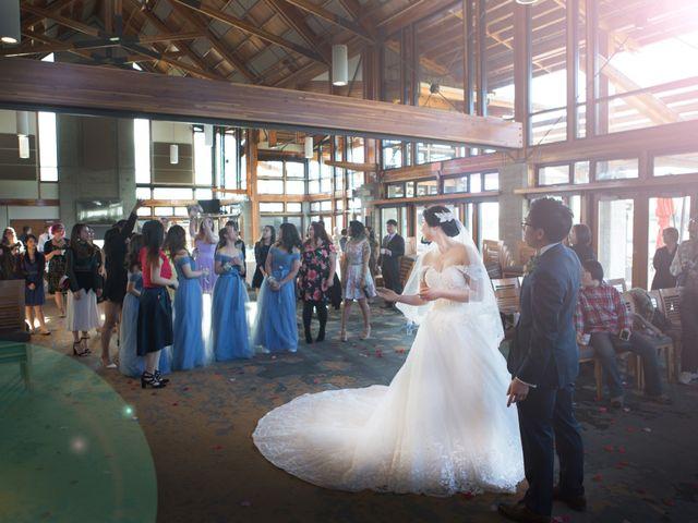 Garvin and Cathy's wedding in Burnaby, British Columbia 8