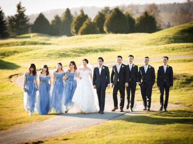 Garvin and Cathy's wedding in Burnaby, British Columbia 9