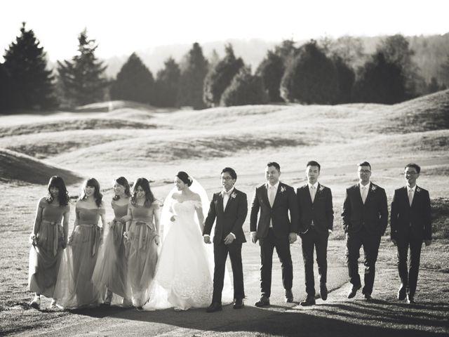 Garvin and Cathy's wedding in Burnaby, British Columbia 10