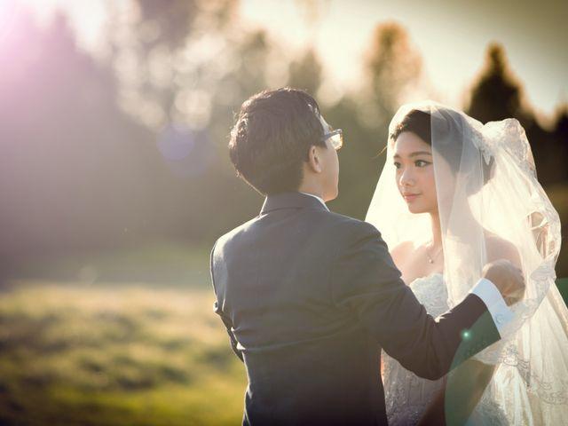 Garvin and Cathy's wedding in Burnaby, British Columbia 11