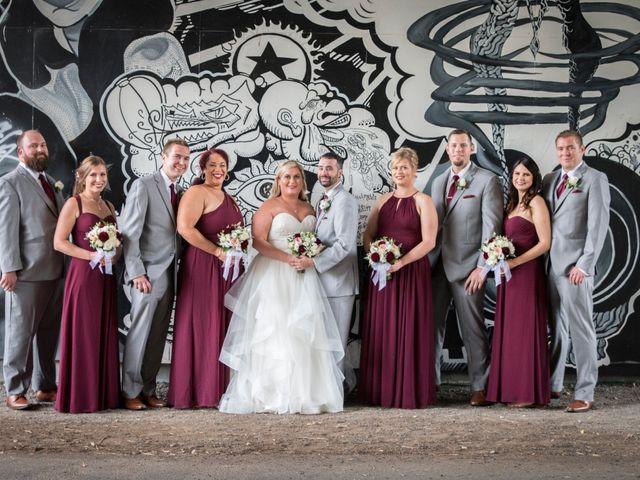 Chris and Katherine's wedding in Edmonton, Alberta 1