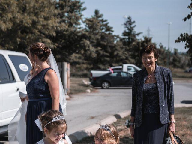 Kevin and Amanda's wedding in Hamilton, Ontario 6