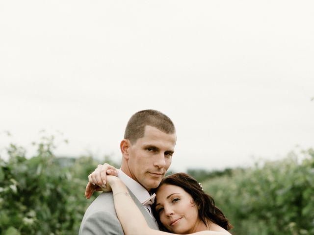 Kristen & Lucas's Real Wedding By HONOR Beauty