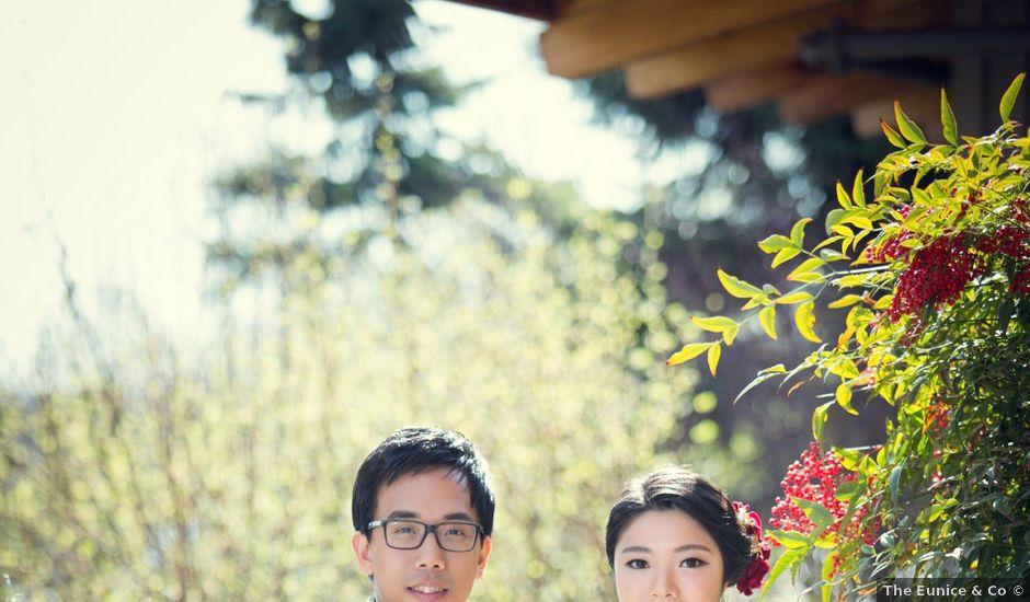 Garvin and Cathy's wedding in Burnaby, British Columbia
