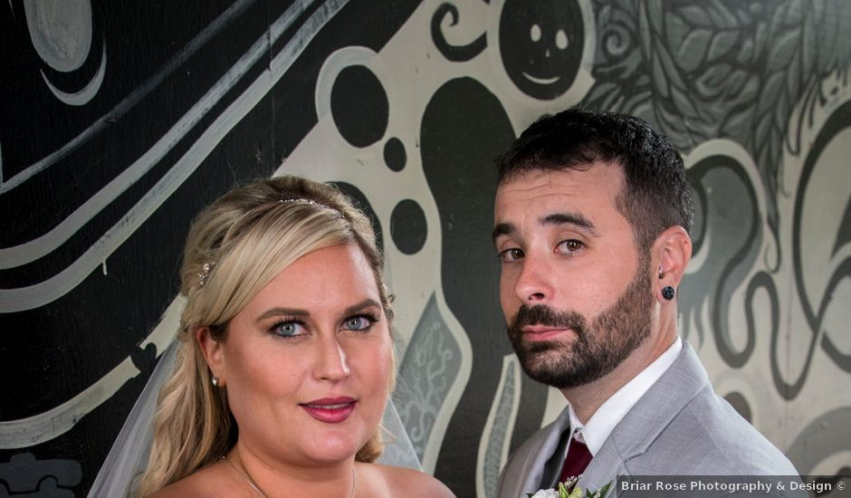 Chris and Katherine's wedding in Edmonton, Alberta