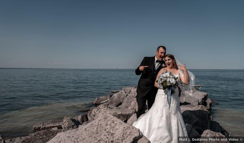 Kevin and Amanda's wedding in Hamilton, Ontario