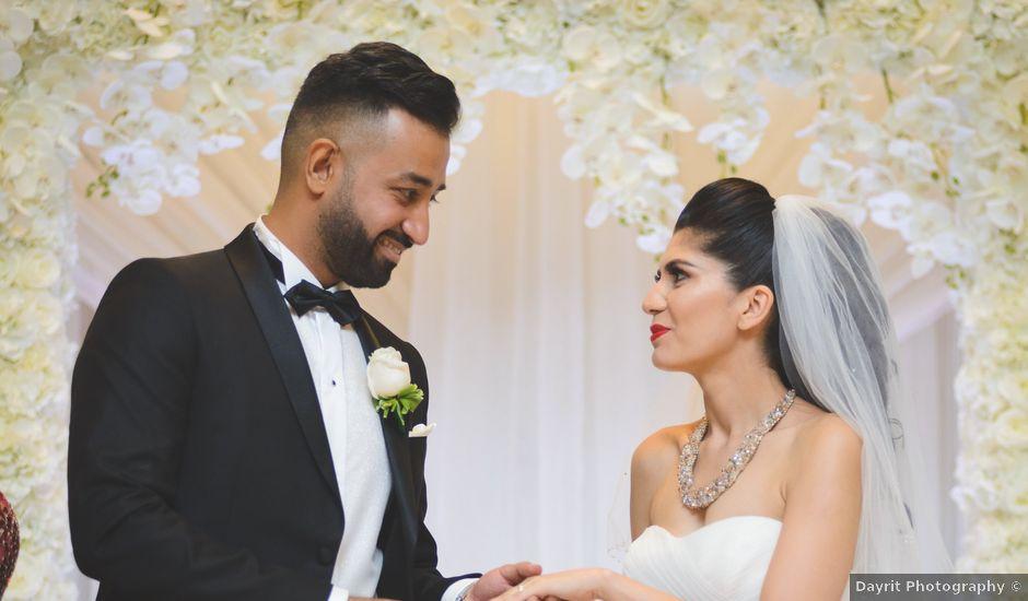 Maseeh and Yalda's wedding in Vaughan, Ontario