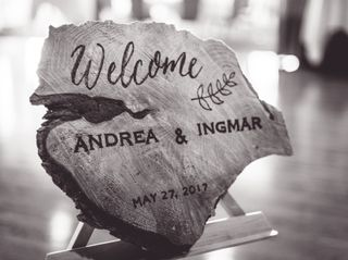 The wedding of Andrea and Ingmar 1