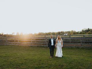 The wedding of Lauren and Lee