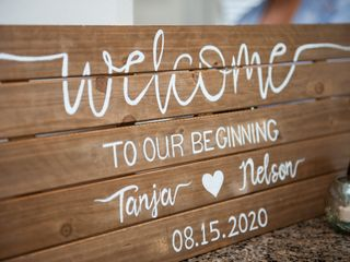 The wedding of Tanja and Nelson 1