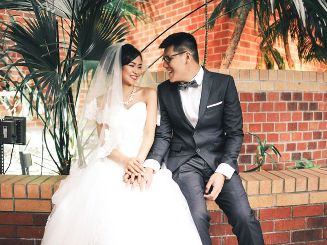 The wedding of Charlene and Abshalom