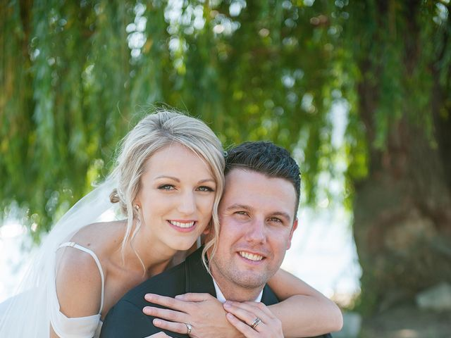 Nelson and Tanja's wedding in Kelowna, British Columbia 2