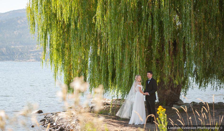 Nelson and Tanja's wedding in Kelowna, British Columbia