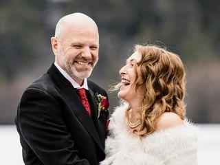 The wedding of Amanda and Bruce 1