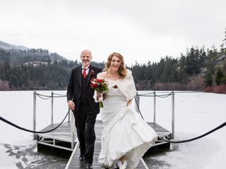 The wedding of Amanda and Bruce