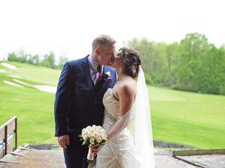 The wedding of Katrina and Jason