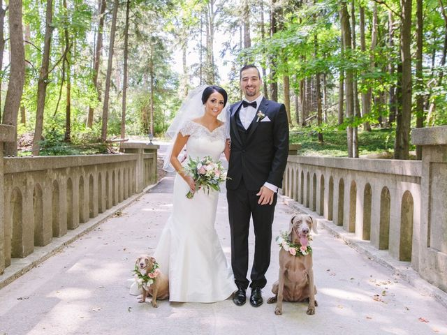 The wedding of Erika and Mike