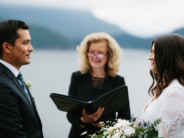 Rob and Katie's wedding in West Vancouver, British Columbia 12