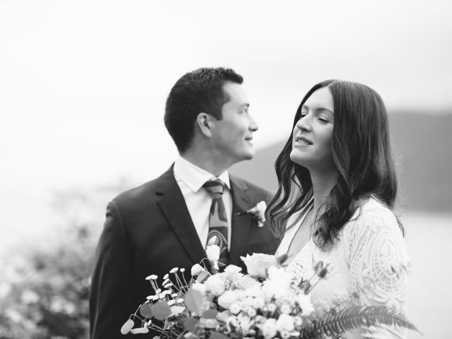 Rob and Katie's wedding in West Vancouver, British Columbia 1