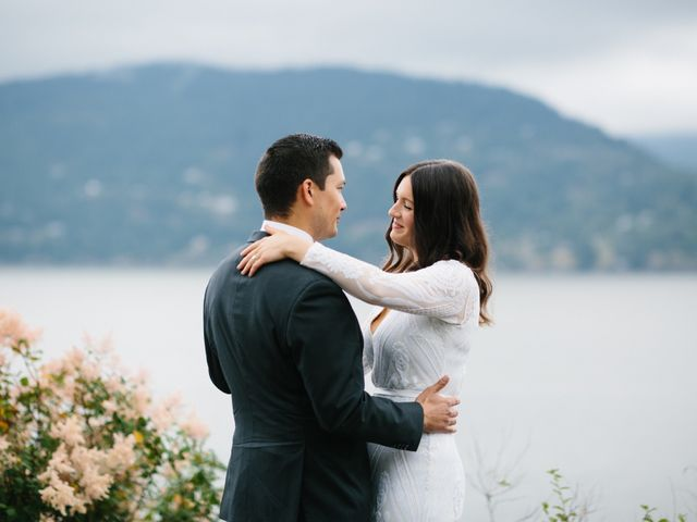 Rob and Katie's wedding in West Vancouver, British Columbia 20