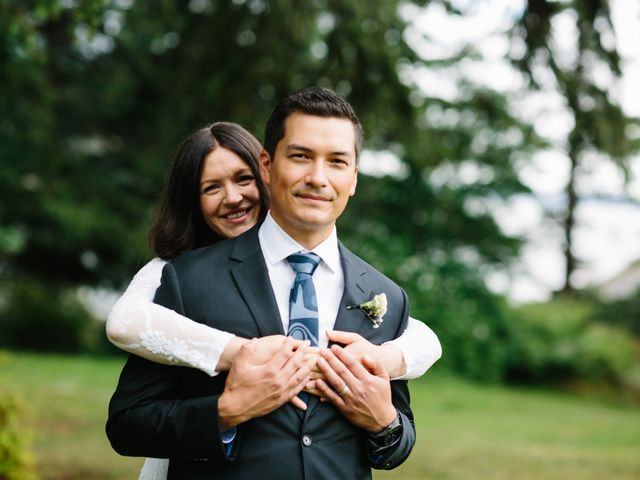 Rob and Katie's wedding in West Vancouver, British Columbia 2