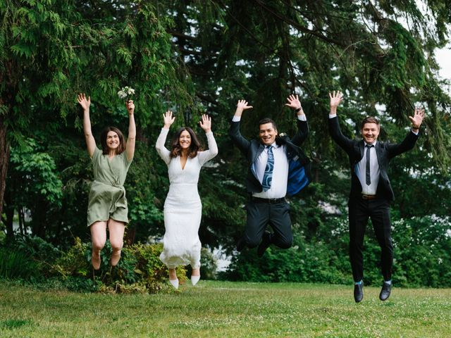 Rob and Katie's wedding in West Vancouver, British Columbia 25