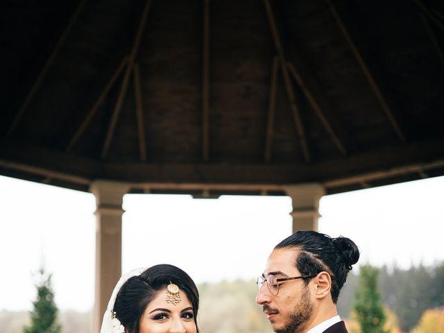 Ayman and Laveza's wedding in Caledon, Ontario 7