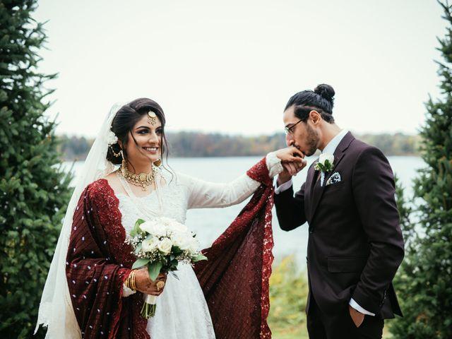 Ayman and Laveza's wedding in Caledon, Ontario 8