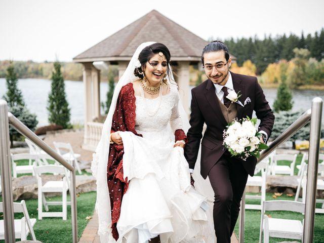 Ayman and Laveza's wedding in Caledon, Ontario 1