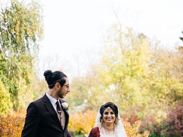 Ayman and Laveza's wedding in Caledon, Ontario 9