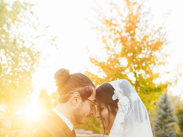 Ayman and Laveza's wedding in Caledon, Ontario 2